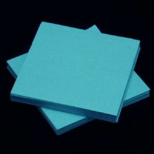 Small origami, blue, 5.5cm, 100 sheets, (Papers not perfectly square - sold at a discount), [KY635]